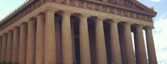 The Parthenon is one of Sites and Sounds in Nashvegas.