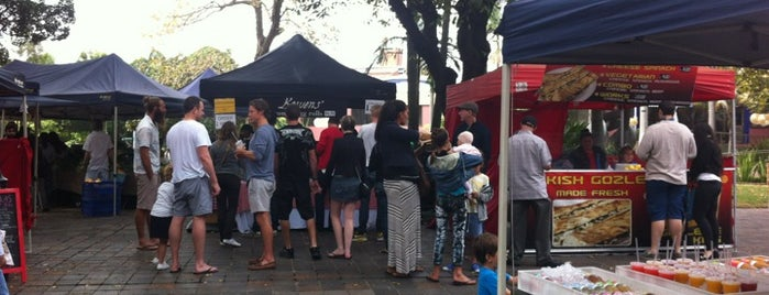 Kings Cross Organic Food Market is one of Australia.