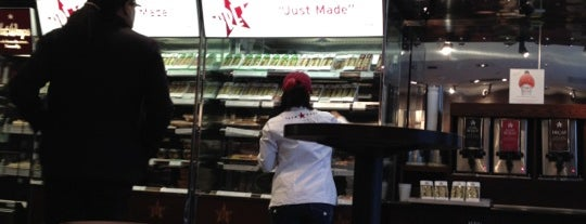 Pret A Manger is one of New York.