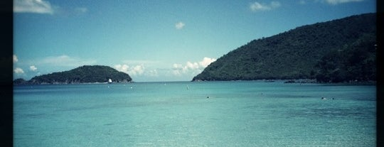 Maho Bay is one of St John.