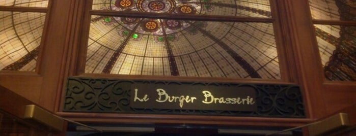 Le Burger Brasserie is one of West Coast Restaurants.