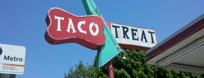 Taco Treat is one of Old Los Angeles Restaurants Part 2.