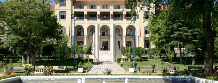 Gazi Üniversitesi Rektörlüğü is one of my love Ankara.