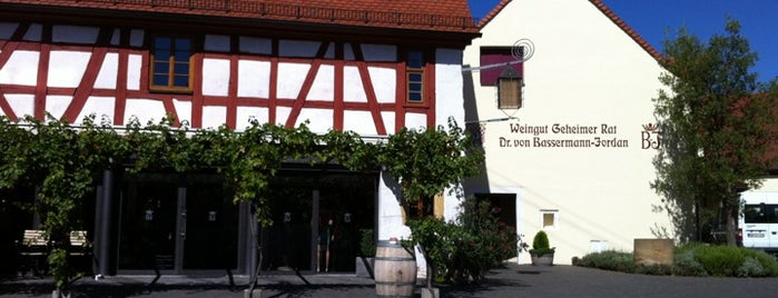 Weingut Geheimer Rat Dr. von Bassermann-Jordan is one of Locais salvos de Patricia.