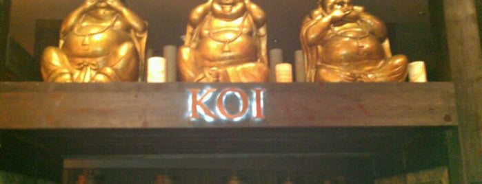 Koi Restaurant is one of Lieux sauvegardés par Grant.