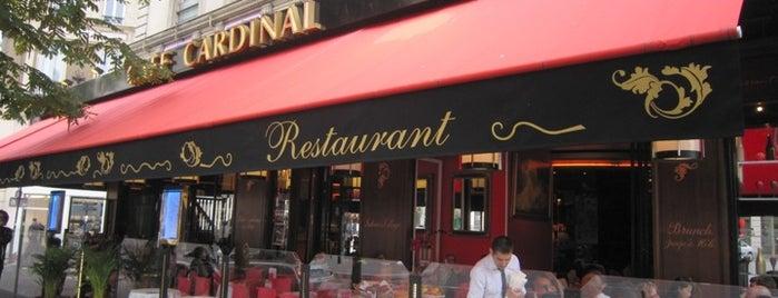 Le Cardinal is one of  Paris Eat .