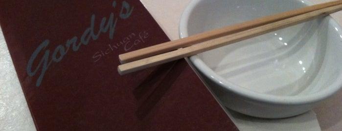 Gordy's Sichuan Cafe is one of Joey D's 50 Favorite Spokane Spots.
