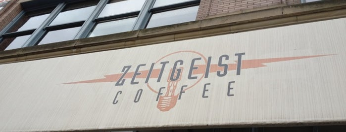 Zeitgeist Kunst & Kaffee is one of Lugares guardados de A.
