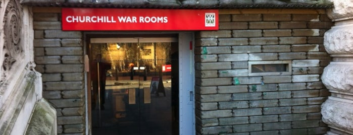 Churchill War Rooms (Churchill Museum & Cabinet War Rooms) is one of Stuff I want to see and redo in London.