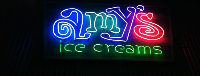 Amy's Ice Creams is one of Tempat yang Disimpan Greg.