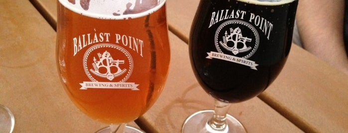 Ballast Point Brewing & Spirits is one of California Breweries.