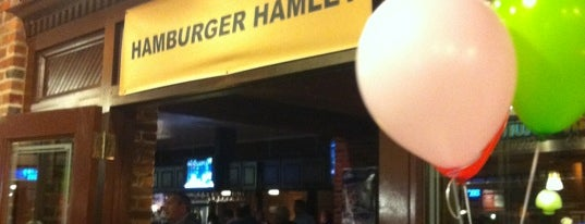 Hamburger Hamlet is one of Best Bars in Maryland to watch NFL SUNDAY TICKET™.