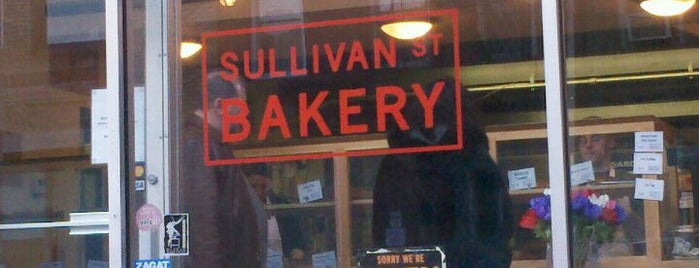 Sullivan Street Bakery is one of New York III.