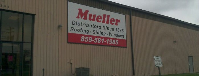 Mueller Distributers is one of Fixer Upper Badge - Cincinnati Venues.