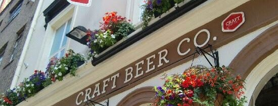 The Craft Beer Co. is one of London Munchies Vol.5.