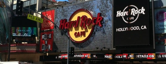Hard Rock Cafe Hollywood on Hollywood Blvd is one of Los Angeles.