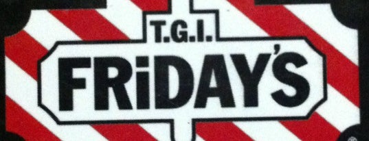 T.G.I. Friday's is one of Gespeicherte Orte von Cecil.