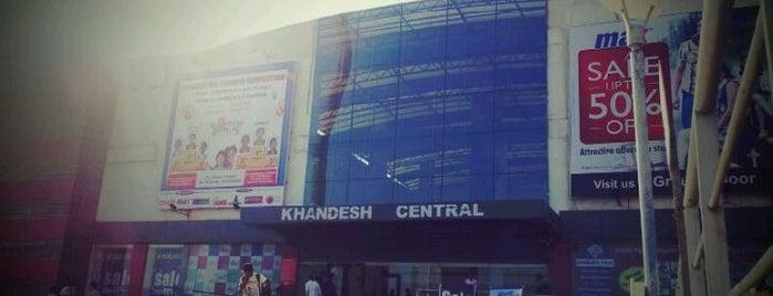 Khandesh Central is one of Lieux qui ont plu à Abrão.