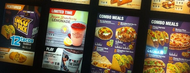 Taco Bell is one of Lunch.