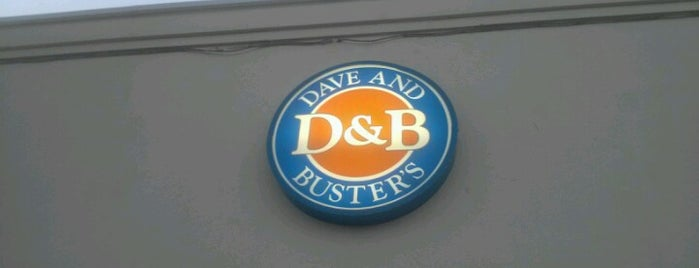 Dave & Buster's is one of Food Places.