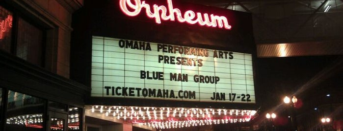 Orpheum Theater is one of Omaha Venues.