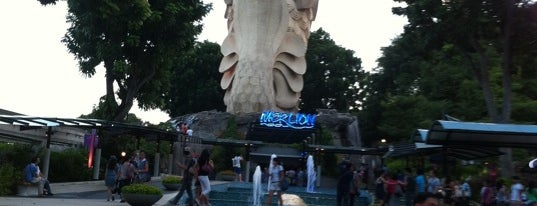 Sentosa Merlion is one of Visit Singapore: FindYourWayInSG.