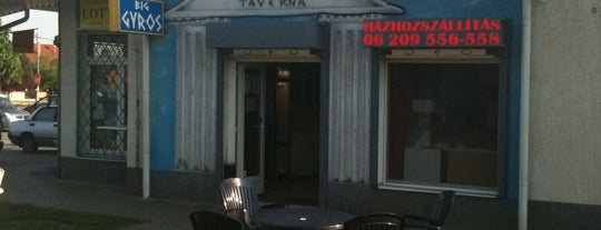 Gyros Taverna is one of Budapest kaja.