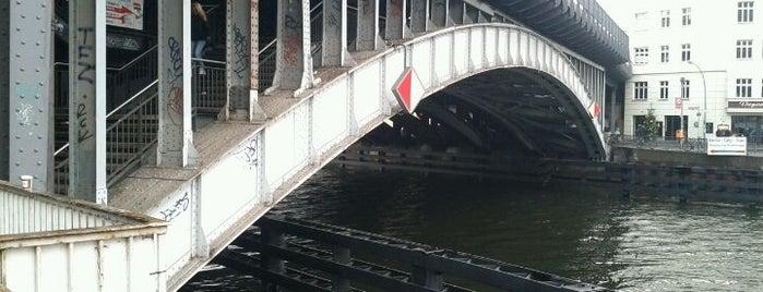 Eisenbahnbrücke über die Spree is one of Berlin Best: Sights.