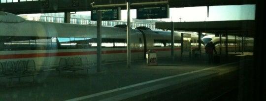 สถานีรถไฟกลางมิวนิก is one of I Love Munich!.
