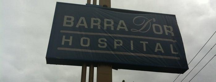 Hospital Barra D'or is one of สถานที่ที่ Monica ถูกใจ.