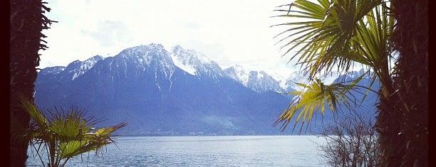 Riviera Montreux is one of Suiça - onde ir.
