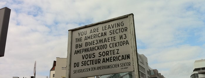 Checkpoint Charlie is one of Berlin.