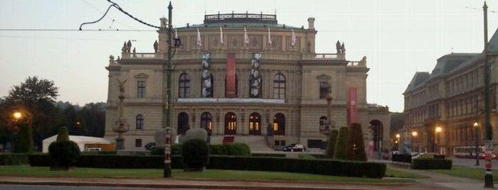 Galerie Rudolfinum is one of prague.