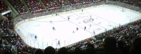 PNC Arena is one of NHL HOCKEY ARENAS.