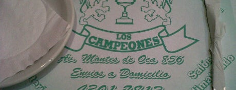 Los Campeones is one of Pizza!.