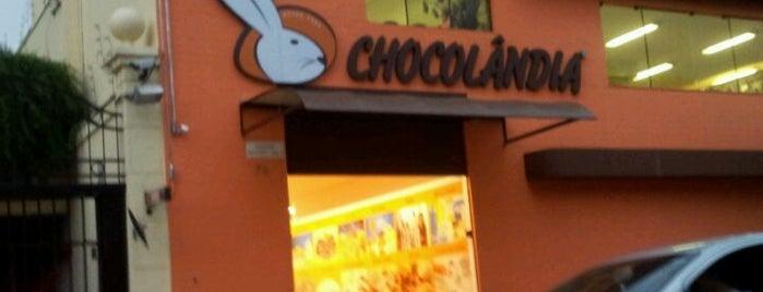 Chocolândia is one of Lojas.