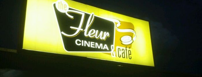 Fleur Cinema & Café is one of Drew's favorites.