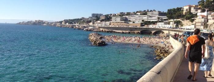 Plage du Prophète is one of Marseille.