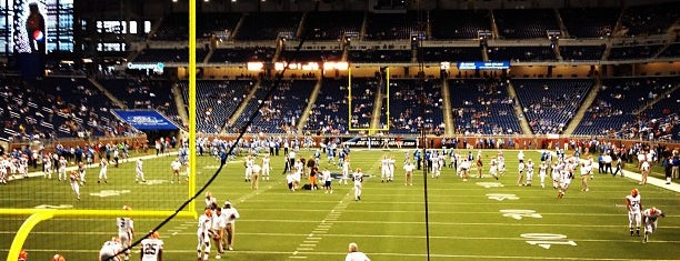 Ford Field is one of The Most Popular Football Stadiums in the US.