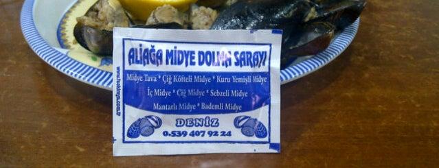 Aliağa Midye Dolma Sarayı is one of Kubilay : понравившиеся места.