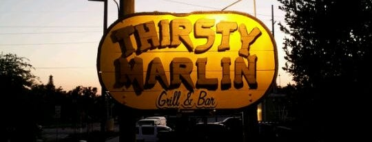 Thirsty Marlin Grill & Bar is one of Florida.