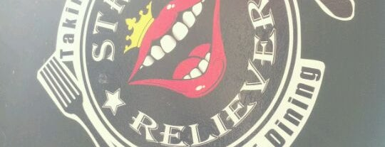 Stress Reliever is one of Washington DC Food Trucks.