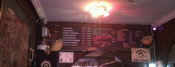 Mamoun's Falafel is one of New York Favorites.