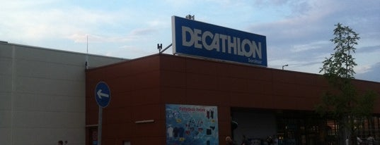 Decathlon Soroksár is one of Lugares favoritos de Adam.