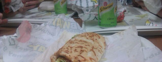 Subway is one of Veja Comer & Beber ABC - 2012/2013 - Comidinhas.