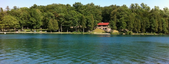 Green Lakes State Park is one of So, You're Stuck In Syracuse..