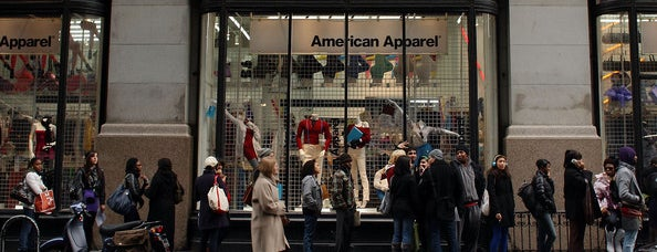 American Apparel is one of Gone But Not Forgotten....