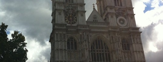 Abadia de Westminster is one of London.