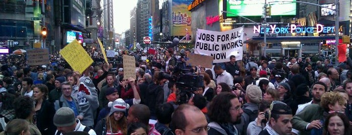 #OccupyTimesSquare is one of #OccupyAmerica Locations.