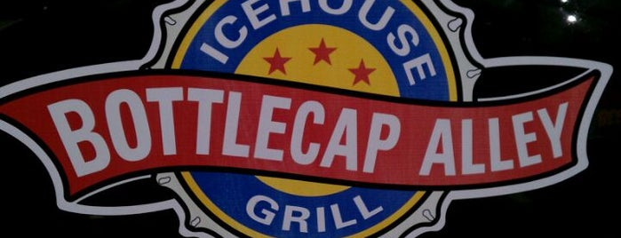 BottleCap Alley Icehouse Grill is one of Tempat yang Disimpan Droo.